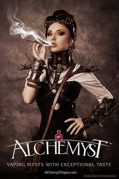 A vape with exceptional taste. Alchemyst vaping mysts.