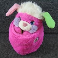 Popples!! oh my goodness! I forgot about these little fellas!...boy we had creepy toys when we were young
