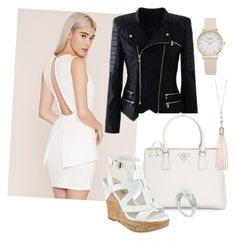 """""""Untitled #75"""" by sharon-chetty ❤ liked on Polyvore featuring Forever 21, Prada, GUESS and Oasis"""