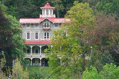Jim Thorpe, PA: Asa Packer Mansion, home of Asa Packer whose accomplishments included building the Lehigh Valley Railroad, and founding the Lehigh University!