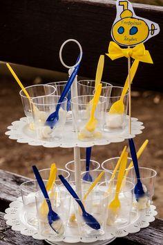Γλυκό υποβρύχιο με γεύση λεμόνι!!! Yellow Submarine, Christening, Cake, Desserts, Food, Pie Cake, Meal, Cakes, Deserts