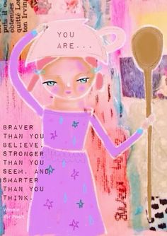 you are... - Disney quotes Winnie the Pooh Uplifting Words and Art by Susana Tavares