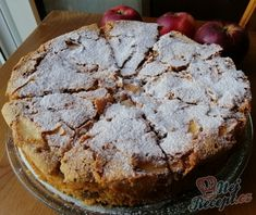 Apple Dessert Recipes, Cookie Desserts, Fruit Recipes, Sweet Recipes, Cooking Recipes, Cakes And More, Sweet Tooth, Food And Drink, Yummy Food