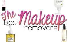 Best Makeup Removers - Hairspray and Highheels