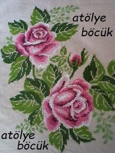 Lace Embroidery, Cross Stitch Embroidery, Cross Stitch Patterns, Mom, Flowers, Projects, Herb, Red Roses, Angels