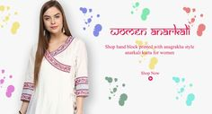 Angrakha Style, Kurtis, Anarkali, Palazzo, Shop Now, Printed, Clothes For Women, Clothing, Cotton
