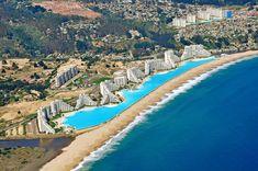 Ecco la piscina più grande al mondo con oltre due milioni e mezzo di litri di acqua e una lunghezza totale di un chilometro