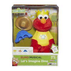 Elmo the Musical Let's Imagine Elmo