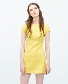 DRESS WITH LOW - CUT BACK - Dresses - WOMAN | ZARA United States