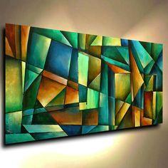 By Michael Lang, Abstract Painting Modern Contemporary original Art Decor Mix Lang cert. African Artwork, Contemporary Abstract Art, Modern Contemporary, Modern Art Movements, Deco Originale, Classic Paintings, Abstract Photography, Original Art, Canvas Art