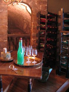 Wine Cellar Roombox by Diogioscuro, via Flickr