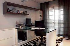Clovis Junior Interiores: Decoração de um Home Office - Um Espaço Comercial dentro de Casa.