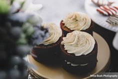 Red velvet mini cakes from Stone Layne Baked Specialities-Wina Beals Photography