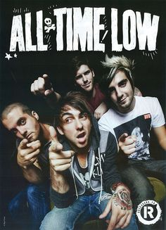 All Time Low. These are some of the people that have saved my life. They are probably the most immature people ever, but I love them.