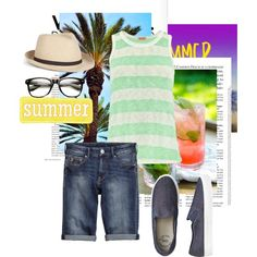 """Yeah!"" by kate-dep-dep on Polyvore #summer #tomboy"