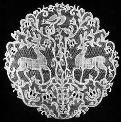 Varrott csipke - Needle Lace Kiskunhalas
