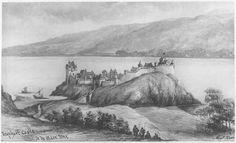 Urquhart Castle as it once stood