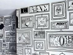 Inspiração para alegrar um ambiente : cartoon ~ ARQUITETANDO IDEIAS