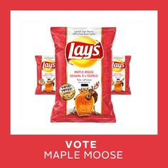 "Moose-Flavored Potato Chips? ""Maple Moose"" is Latest Lay's Addition in Canada"