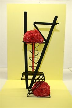 Viewing Album: Entry Day 2 Garden Club, Construction Design, Flower Plates, Flower Show, Abstract Flowers, Ikebana, Floral Designs, Creative Design, Flower Arrangements