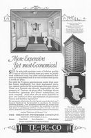 Te-Pe-Co Fixtures Second National Bank 1927 Ad Picture