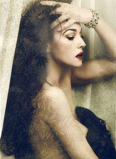 Monica Bellucci photographed by Signe Vilstrup