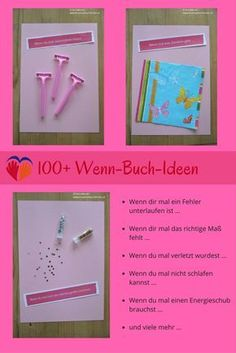 DIY-gaveide: ideer til din egen, hvis bog, Diy Gifts For Friends, Best Friend Gifts, Gifts For Wife, Birthday Gift For Wife, Diy Birthday, Diy Letters, Diy Presents, Last Minute Gifts, Diy Mask