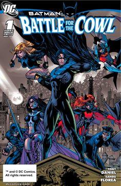 Batman Battle For The Cowl Tony S. Daniel DC Comics Graphic Novel Very good used condition, no tears or writing. Nightwing, Batgirl, Catwoman, Dc Comics, Batman Comics, Cbr, Batman Story, Walt Disney, Dark Knight