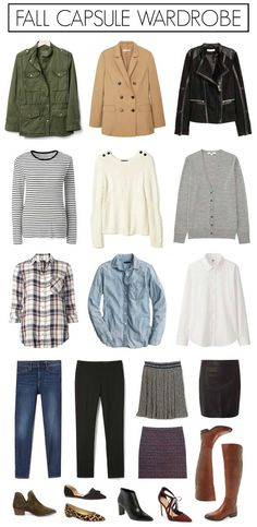 How to create a fall capsule wardrobe on a budget that fits your personal style