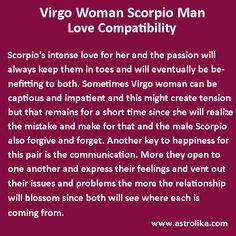 Virgo man and a libra woman
