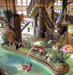 Most Kid-Friendly Resort:  Zehnders Splash Village