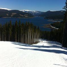 Skiing in Romania