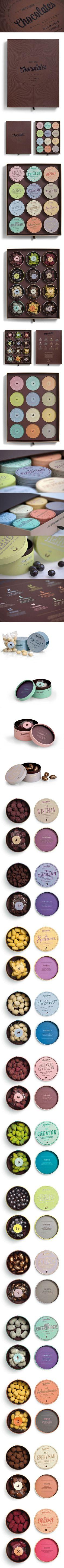 Chocolates with attitude 2012 by Bessermachen DesignStudio