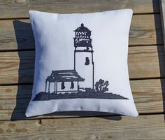 Nautical Seagull Cushion Cover Seaside Blue Luxury Nautical