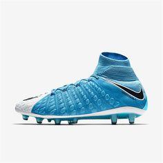 9dd960302 Nike Hypervenom Phantom 3 DF AG-PRO (Photo Blue   White   Chlorine Blue