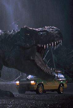 Jurassic Park, starring T-Rex T Rex Jurassic Park, Jurassic Park Series, Jurassic Park World, Michael Crichton, Science Fiction, Love Movie, I Movie, Film Mythique, Jurassic Movies