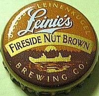Leinie's Fireside Nut Brown, beer bottle cap | Jacob Leinenkugel Brewing Co., Chippewa Falls, Wisconsin USA Wine Bottle Trees, Bottle Cap Table, Beer Bottle Caps, Bottle Cap Art, Beer Bottles, Bottle Cap Projects, Bottle Cap Crafts, Bottle Caps For Sale, Wisconsin