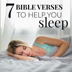 Bedtime Prayer & 7 Bible Verses to Help You Sleep - Peaceful Home Prayer Scriptures, Bible Prayers, Faith Prayer, Bible Verses Quotes, Fall Bible Verses, Deliverance Prayers, Powerful Scriptures, Powerful Prayers, Biblical Verses