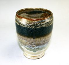 Pottery Wine Cup Drinking Glass Tumbler by MostlyStoneware