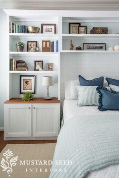 Coastal bedroom makeover by Miss Mustard Seed. Bedroom Decor For Small Rooms, Coastal Bedrooms, Home Bedroom, Bedroom Furniture, Bedroom Ideas, Paint Furniture, Master Bedrooms, Furniture Makeover, Furniture Design