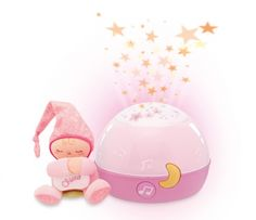 Chicco Nachtlamp Stars Projector First Dreams Pink € 29,95
