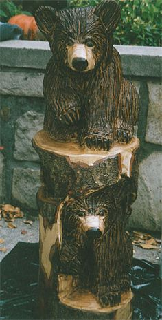 Wood carvings on pinterest chainsaw carvings chainsaw and chain saw