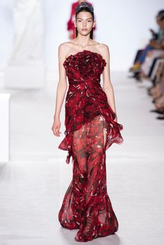 Giambattista Valli Fall 2013 Couture Fashion Show - Elisabeth Erm.