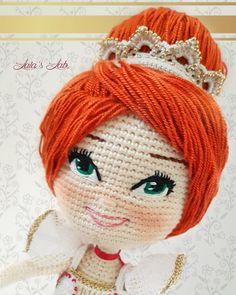 Bailarina amigurumi doll