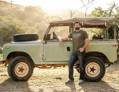 Land Rover 88 Serie III Soft Top Canvas-Here's to weekend adventures. Have fun out there...