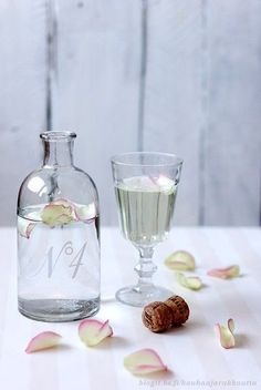 ... for... on Pinterest | Rose water, Mimosa champagne and Rose petals