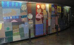 Juan Battle Pianas / Hall de entrada del Teatro San Martin de Buenos Aires.