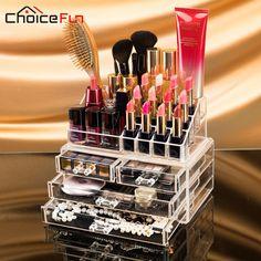 CHOICE FUN Makeup Organizer Storage Box Acrylic Make Up Organizer Cosmetic Organizer Makeup Storage Drawers Organizer SF 1155-in Storage Boxes & Bins from Home & Garden on Aliexpress.com | Alibaba Group