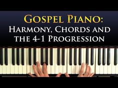 Gospel piano music has a very unique, characteristic sound and involves many little tricks you must learn, from special progressions to unique chord voicings...