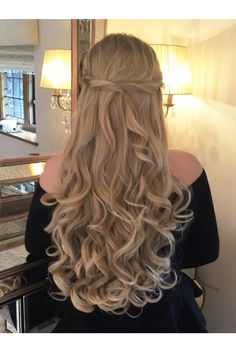 Curly 3/4 Hair Piece Extension